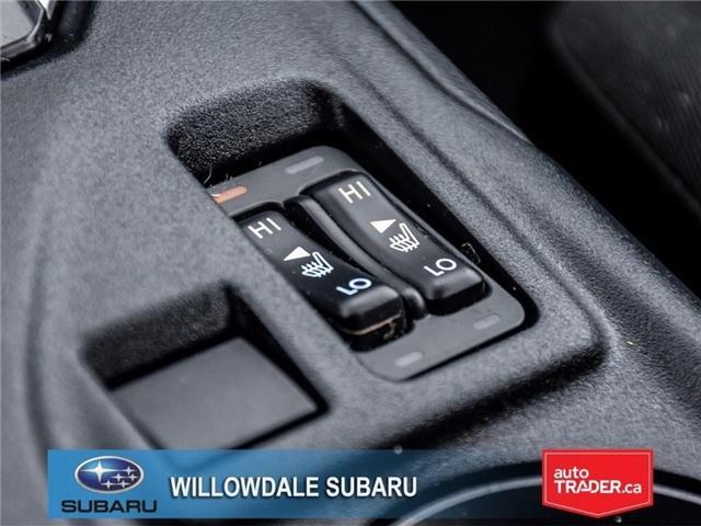 2018 Subaru Impreza Touring | AWD | RIMS | BLUETOOTH | HEATED SEATS (Stk: 18D37) in Toronto - Image 22 of 26