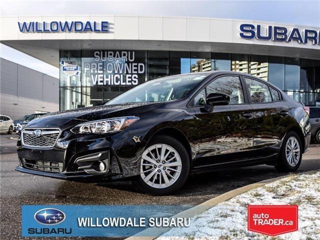 2018 Subaru Impreza Touring | AWD | RIMS | BLUETOOTH | HEATED SEATS (Stk: 18D41) in Toronto - Image 1 of 26