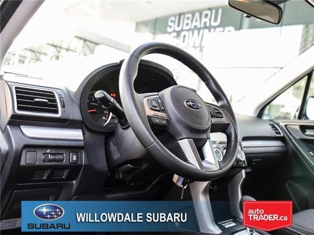 2018 Subaru Forester 2.5i Convenience | AWD | RIMS | BLUETOOTH (Stk: 18D51) in Toronto - Image 12 of 24