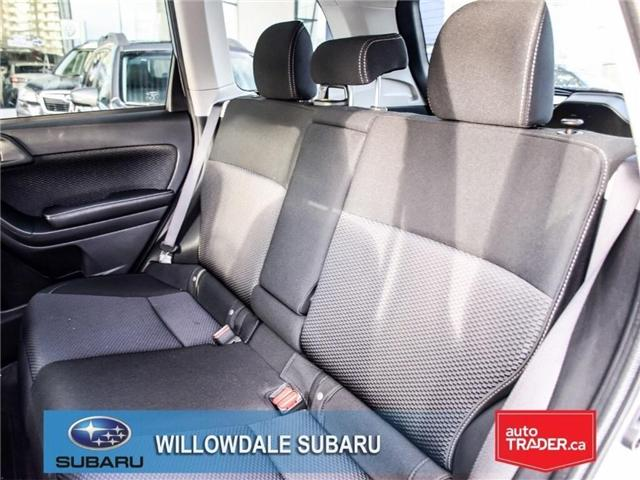 2018 Subaru Forester 2.5i Convenience | AWD | RIMS | BLUETOOTH (Stk: 18D51) in Toronto - Image 14 of 24