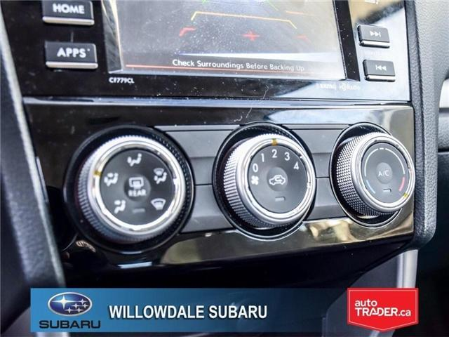 2018 Subaru Forester 2.5i Convenience | AWD | RIMS | BLUETOOTH (Stk: 18D51) in Toronto - Image 19 of 24