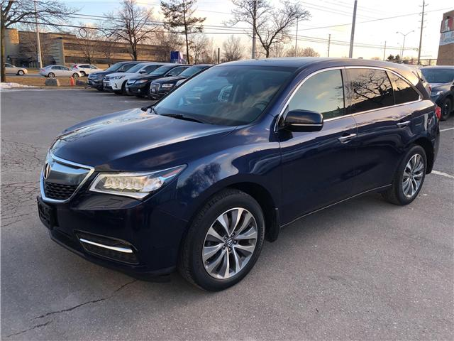 2016 Acura MDX Navigation Package (Stk: 501375T) in Brampton - Image 1 of 16