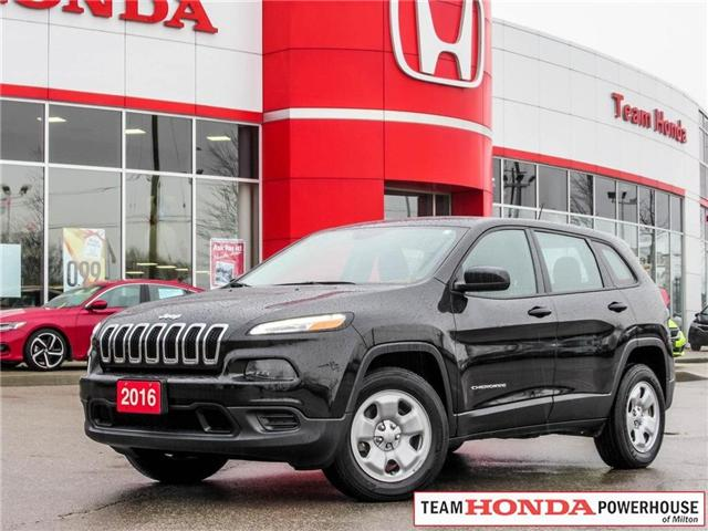 2016 Jeep Cherokee Sport (Stk: 231W) in Milton - Image 1 of 26