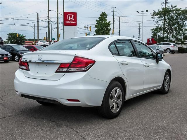 2013 Honda Civic LX (Stk: 3222) in Milton - Image 5 of 25