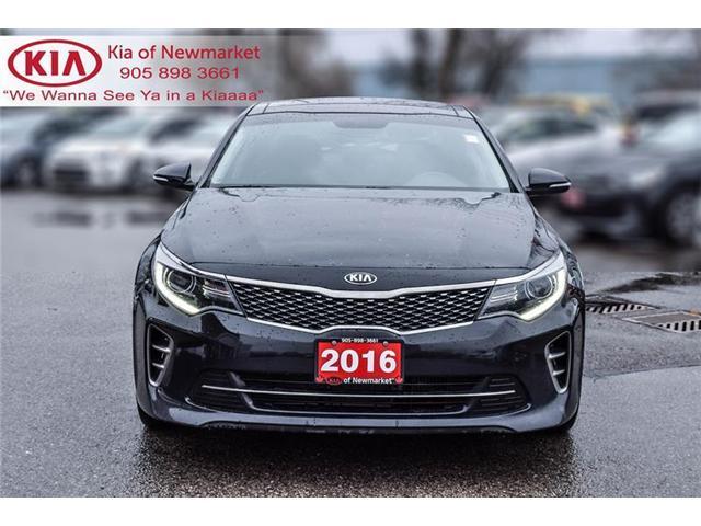 2016 Kia Optima SX Turbo (Stk: P0778) in Newmarket - Image 2 of 21