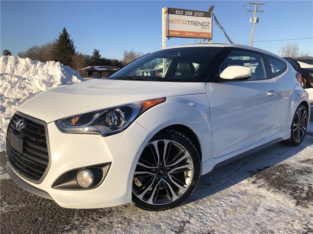 2017 Hyundai Veloster Turbo (Stk: -) in Kemptville - Image 1 of 28