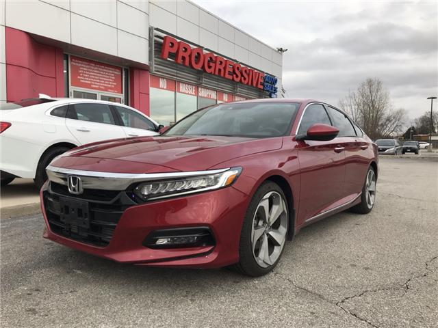 2018 Honda Accord Touring (Stk: JA802843) in Sarnia - Image 1 of 9
