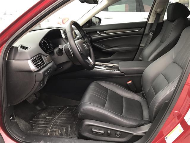 2018 Honda Accord Touring (Stk: JA802843) in Sarnia - Image 4 of 8