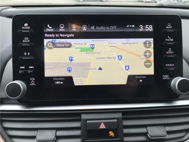 2018 Honda Accord Touring (Stk: JA802843) in Sarnia - Image 7 of 8
