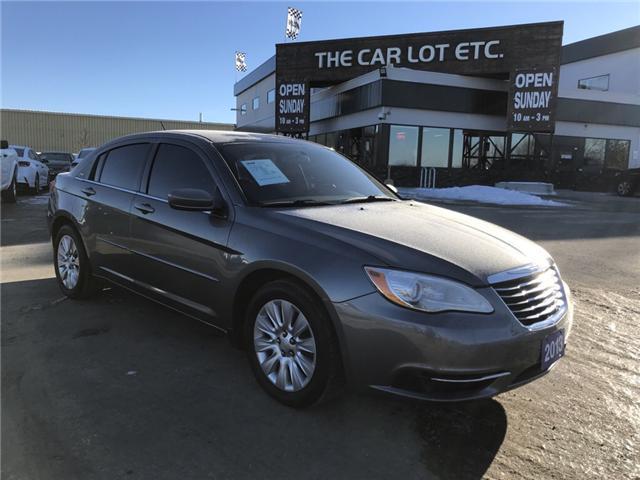 2013 Chrysler 200 LX (Stk: 19007) in Sudbury - Image 1 of 16