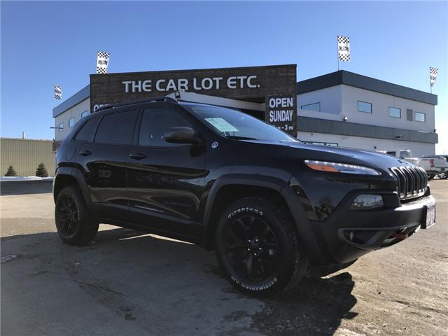 2015 Jeep Cherokee Trailhawk (Stk: 19001) in Sudbury - Image 1 of 14