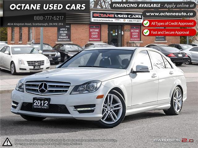 2012 Mercedes-Benz C-Class Base (Stk: ) in Scarborough - Image 1 of 26