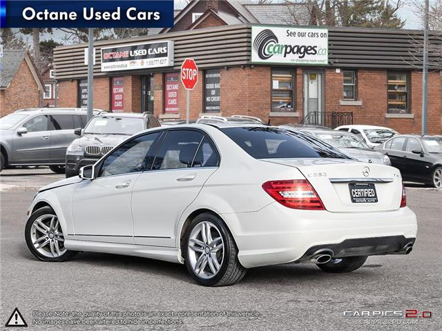 2012 Mercedes-Benz C-Class Base (Stk: ) in Scarborough - Image 4 of 26