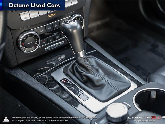 2012 Mercedes-Benz C-Class Base (Stk: ) in Scarborough - Image 18 of 26