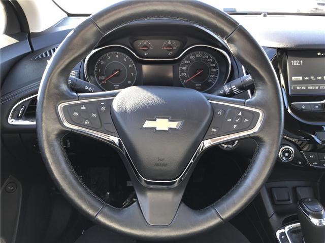 2017 Chevrolet Cruze Premier Auto (Stk: 19005) in Sudbury - Image 13 of 14