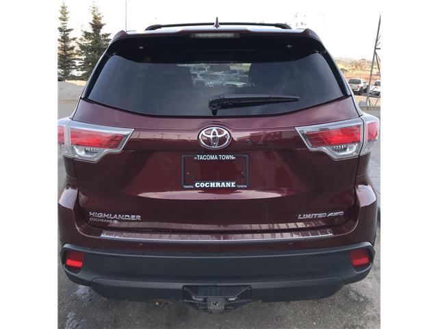 2014 Toyota Highlander Limited (Stk: 2782) in Cochrane - Image 6 of 21