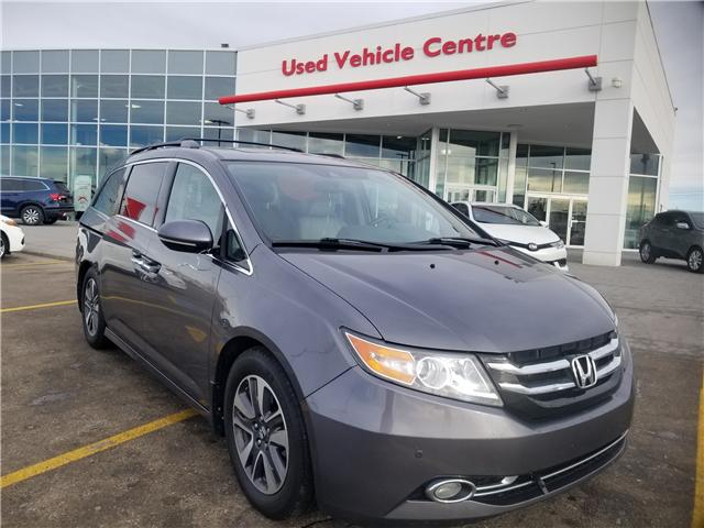 2014 Honda Odyssey Touring (Stk: U184345) in Calgary - Image 1 of 29