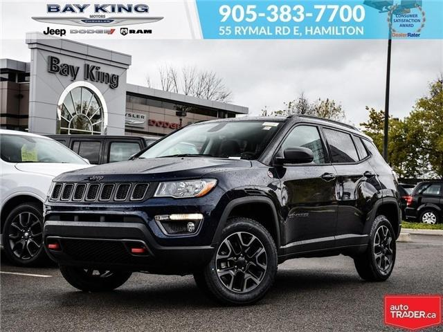 2019 Jeep Compass Trailhawk (Stk: 197539) in Hamilton - Image 1 of 21