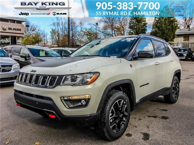 2019 Jeep Compass Trailhawk (Stk: 197545) in Hamilton - Image 1 of 19