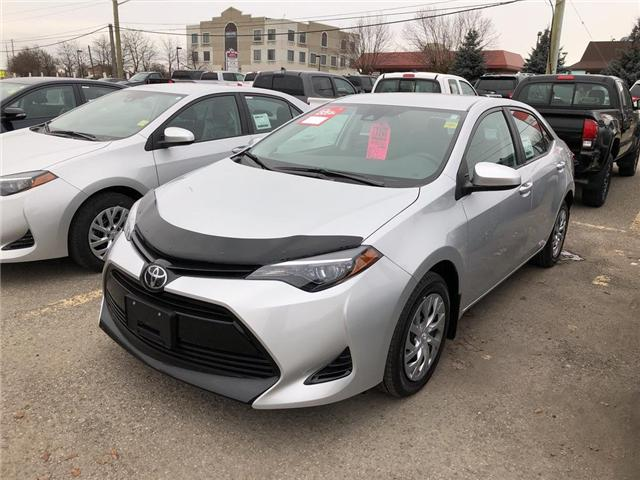 2019 Toyota Corolla LE (Stk: 9CR019) in Georgetown - Image 1 of 5