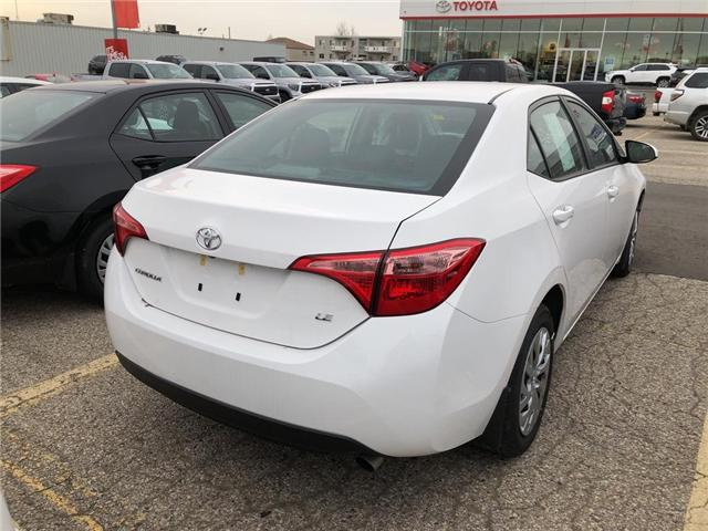 2019 Toyota Corolla LE (Stk: 9CR047) in Georgetown - Image 4 of 5