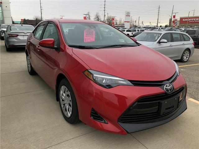 2019 Toyota Corolla LE (Stk: 9CR016) in Georgetown - Image 3 of 5
