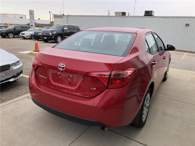 2019 Toyota Corolla LE (Stk: 9CR016) in Georgetown - Image 4 of 5