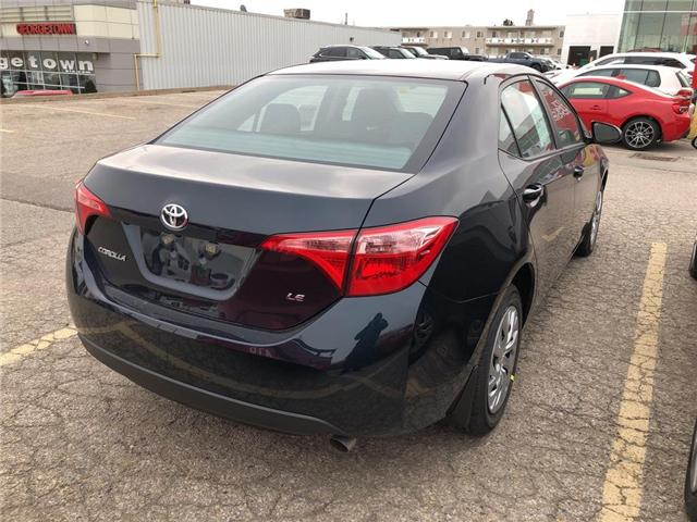 2019 Toyota Corolla LE (Stk: 9CR190) in Georgetown - Image 4 of 5