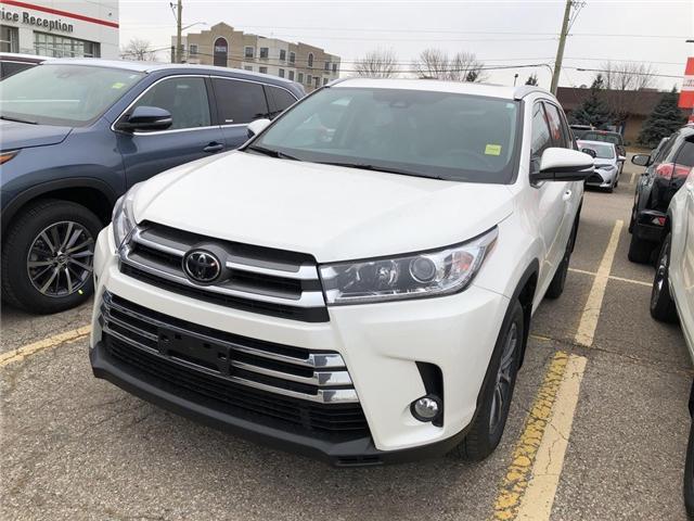 2019 Toyota Highlander XLE (Stk: 9HG212) in Georgetown - Image 1 of 5