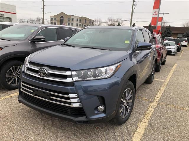 2019 Toyota Highlander XLE (Stk: 9HG215) in Georgetown - Image 1 of 5