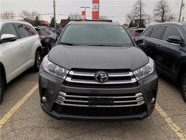 2019 Toyota Highlander XLE (Stk: 9HG221) in Georgetown - Image 2 of 5