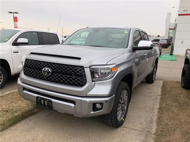 2019 Toyota Tundra Platinum 5.7L V8 (Stk: 9TN224) in Georgetown - Image 1 of 5