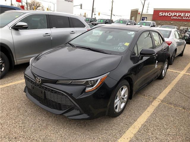 2019 Toyota Corolla Hatchback SE Package (Stk: 9CB248) in Georgetown - Image 1 of 5
