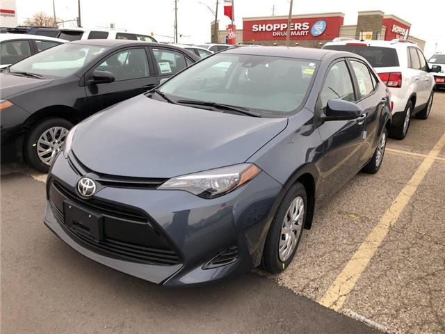 2019 Toyota Corolla LE (Stk: 9CR259) in Georgetown - Image 1 of 5