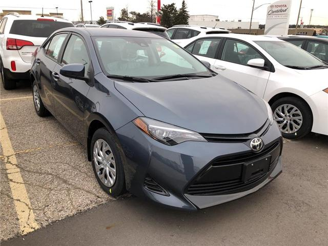 2019 Toyota Corolla LE (Stk: 9CR259) in Georgetown - Image 3 of 5