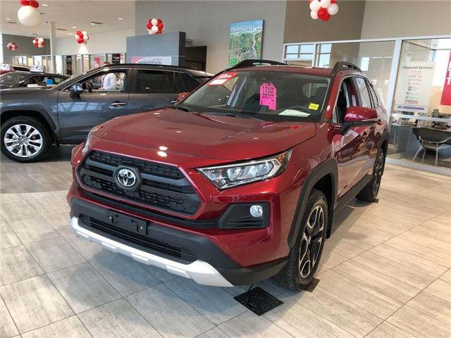 2019 Toyota RAV4 Trail (Stk: 9RV265) in Georgetown - Image 1 of 5