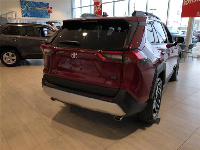 2019 Toyota RAV4 Trail (Stk: 9RV265) in Georgetown - Image 4 of 5