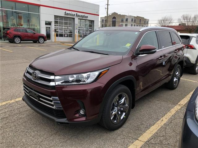 2019 Toyota Highlander Limited (Stk: 9HG268) in Georgetown - Image 1 of 5