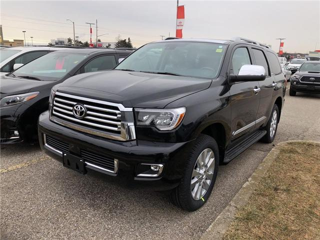 2019 Toyota Sequoia Platinum 5.7L V8 (Stk: 9SQ271) in Georgetown - Image 1 of 5