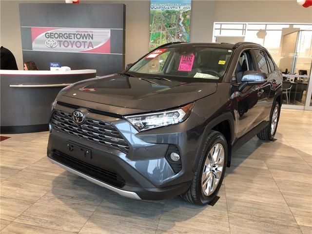 2019 Toyota RAV4 Limited (Stk: 9RV276) in Georgetown - Image 1 of 5