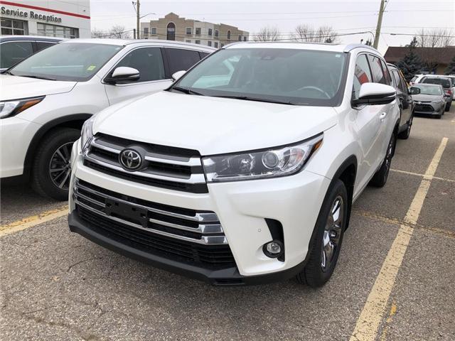 2019 Toyota Highlander Limited (Stk: 9HG277) in Georgetown - Image 1 of 5