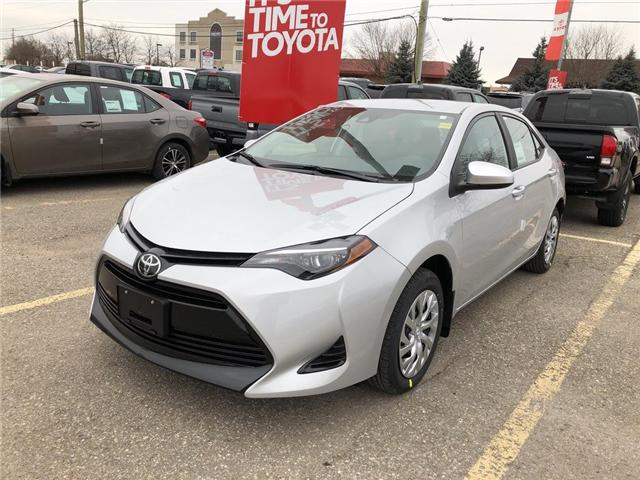 2019 Toyota Corolla LE (Stk: 9CR292) in Georgetown - Image 1 of 5