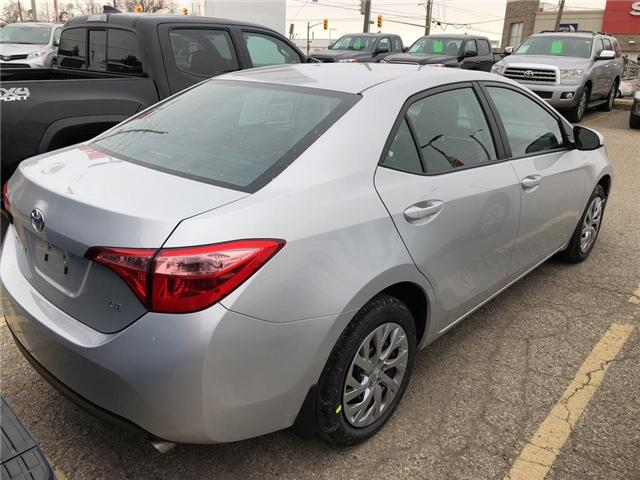 2019 Toyota Corolla LE (Stk: 9CR298) in Georgetown - Image 4 of 5