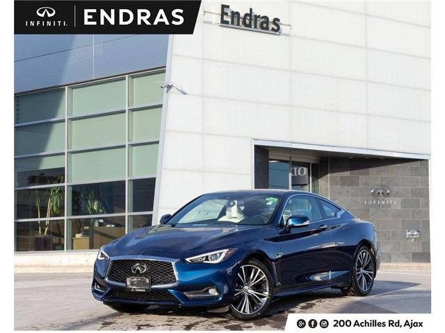 2019 Infiniti Q60 3.0t LUXE (Stk: 60605) in Ajax - Image 1 of 26