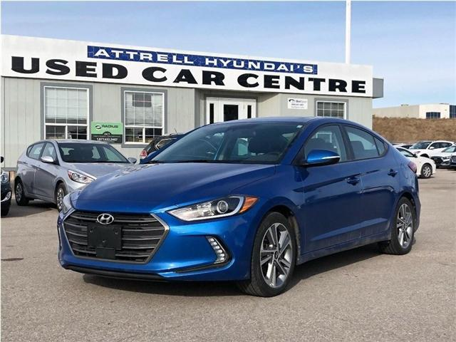 2018 Hyundai Elantra GLS/ONE OWNER (Stk: KMHD84) in Brampton - Image 1 of 15