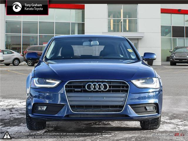 2013 Audi A4 2.0T Premium Plus (Stk: M2534B) in Ottawa - Image 2 of 27