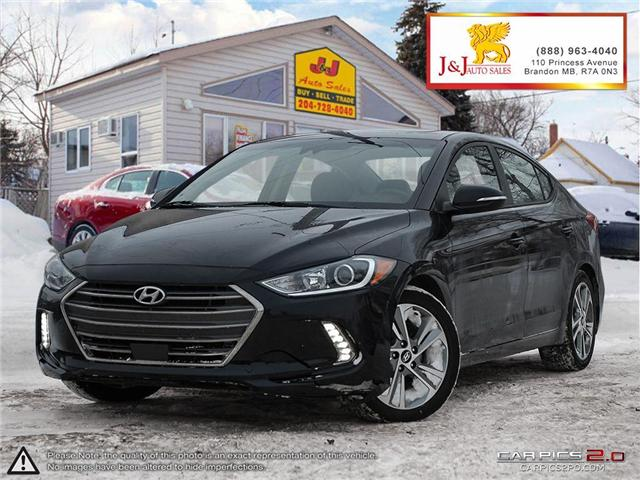2018 Hyundai Elantra Limited (Stk: J19000) in Brandon - Image 1 of 27