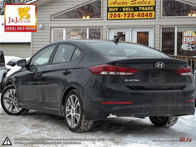 2018 Hyundai Elantra Limited (Stk: J19000) in Brandon - Image 4 of 27