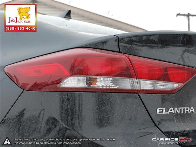 2018 Hyundai Elantra Limited (Stk: J19000) in Brandon - Image 12 of 27
