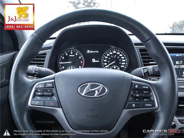 2018 Hyundai Elantra Limited (Stk: J19000) in Brandon - Image 14 of 27
